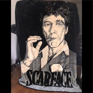 Scarface thick blanket.